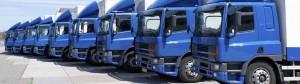 Blue Trucks Row