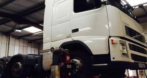 Volvo White Truck